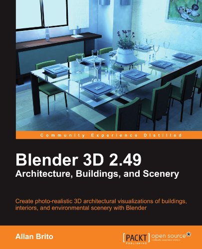 - Blender 3D 2.49 Architecture, Buildings, and Scenery (Open Source: Community Experience Distilled)