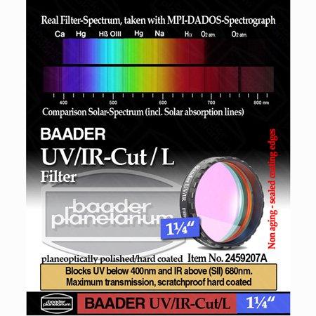 Baader UV-IR-CUT Filter - 1.25'' # FUVIR-1 2459207A by Hayneedle
