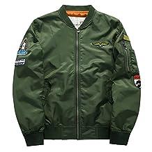 Kmety Men's Air Force One Sports Jacket Flight Suit