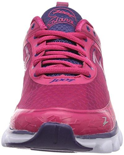 Zoot W SOLANA - zapatillas de running de material sintético mujer multicolor - Mehrfarbig (punch/pink grapefruit/purple haze)
