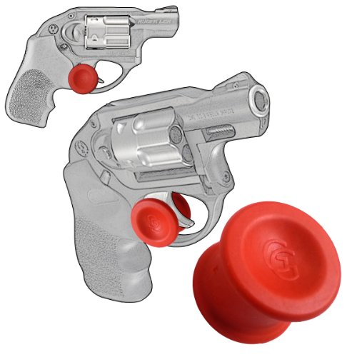 1 Pack Ruger LCR Revolver 22, 38 Specl or 357 Magnum, Quick Release Concealed Carry Micro Holster Trigger Stop by Garrison Grip-PC