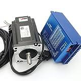 Nema34 8N.m Closed Loop Stepper Servo Motor 116mm 6A 2 Phase+HSS86 Hybrid Servo Motor Driver Controller 70V/AC 100V/DC CNC Kit for CNC Router Engraving Milling Machine