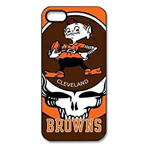 meilinF000NFL Cleveland Browns Team Hard Back Cover Case for iphone 5/5s/5meilinF000