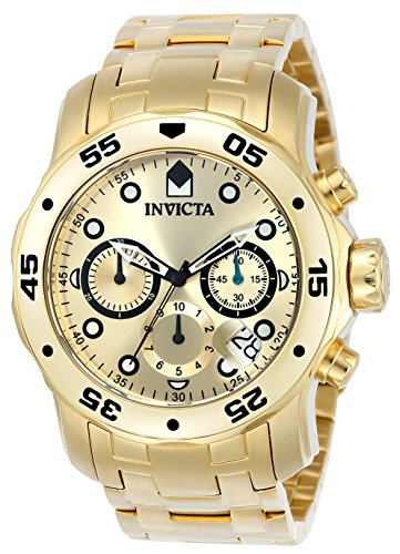 Gold Plated Swiss Watch - 1