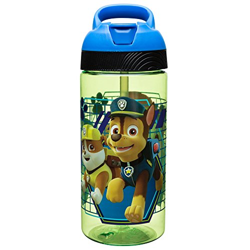 Zak Designs Paw Patrol 19 oz. Plastic Water Bottle, Paw Patrol ()