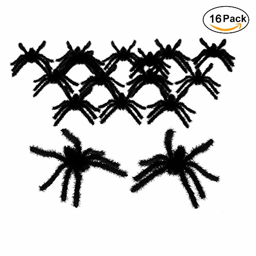 Realistic Plastic Spiders Decoration GOCROWN product image