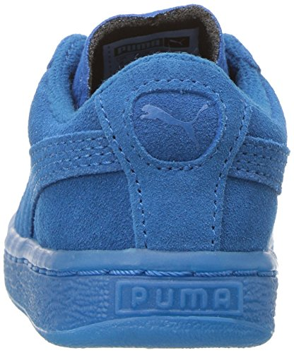PUMA Baby Suede Iced Kids Sneaker, Mykonos Blue, 7 M US Toddler