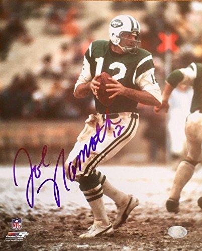 Joe Namath Photo (JOE NAMATH (Jets) authentic signed
