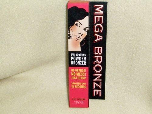 Victoria's Secret Mega Bronze Tan-Boosting Powder Bronzer * Light to Medium* by Victoria's Secret