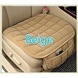 Leoie Simple Comfortable Car Front Cushion Non-Slip Breathable Car Cushion