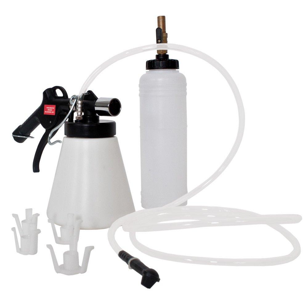 TecTake spurgo freni e frizione per auto Dispositivo di deaerazione Cambio olio freni per automobili e veicoli 400910