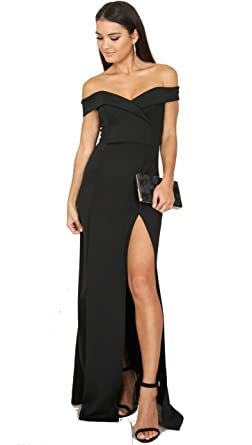Black Sweetheart Cut Dress