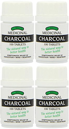 (4 PACK) - Braggs Medicinal Charcoal Tablets | 100s | 4 PACK - SUPER SAVER - SAVE MONEY by Braggs Medicinal
