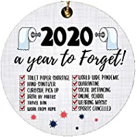 2020 Year to Forget Christmas Ornament