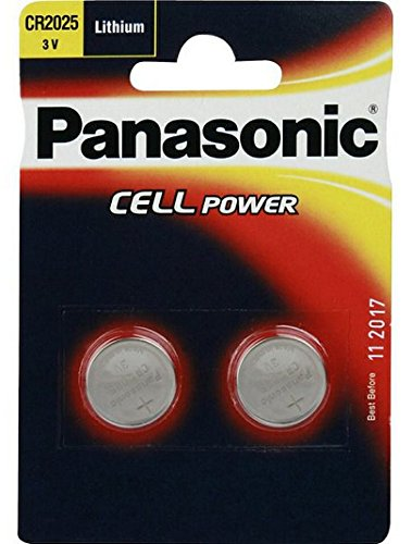Panasonic Cr 2025 Lithium Coin Battery
