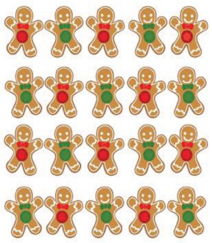 Jolee's Boutique Ginger Bread Dimensional Stickers ()