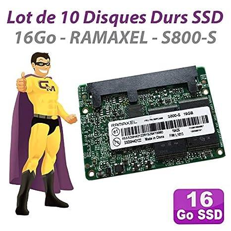 Ramaxel - Lote de 10 Discos Duros de 16 GB SSD SATA III 2.5