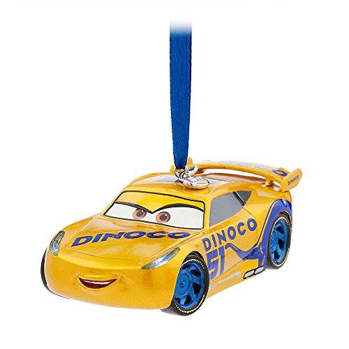 Disney Cruz Ramirez Light-Up Sketchbook Ornament - Cars 3 - Gold