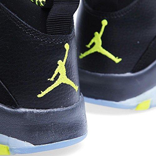 Nike Jungen Air Jordan 10 Retro BG Turnschuhe Schwarz