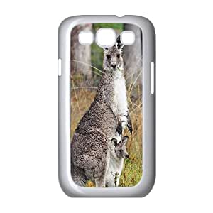 DIY kangroo Phone Case, DIY Protective Hard Case for samsung galaxy s3 i9300 with kangroo (Pattern-9)