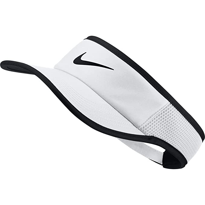 b8ed1b10 Image Unavailable. Image not available for. Color: Nike Aerobill Featherlight  Visor ...