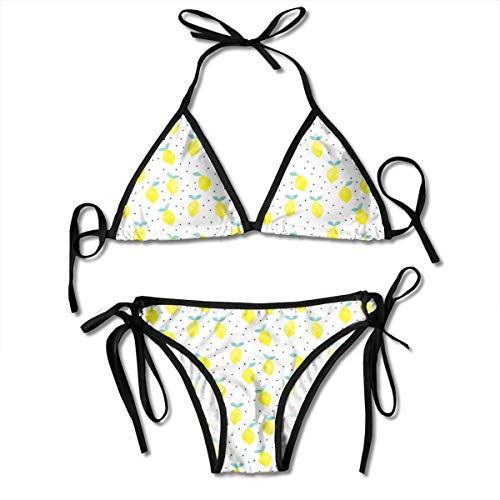 fastly (Micro Print) Lemons - White_1464, Double Layer Screening