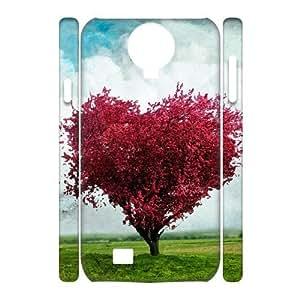 Custom New Case for SamSung Galaxy S4 I9500 3D, Love Tree Phone Case - HL-R657451