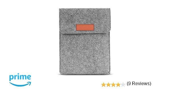 Funda de Fieltro para Kindle Paperwhite//Kindle Voyage//Port/átil Protectora Funda//Apta para Kindle Paperwhite//Voyage 6//Fire HD 6//Kindle Oasis E-Book