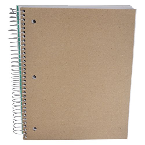 Five Star Spiral Notebook, 1 Subject, College Ruled Paper, 100 Sheets, 11'' x 8-1/2'' Sheet Size (Abstract Design 2) by Five Stars (Image #3)