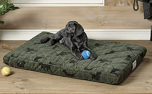 Orvis Platform Dog Bed Cover / X-large Dogs 90-120 Lbs., Lab Plaid,