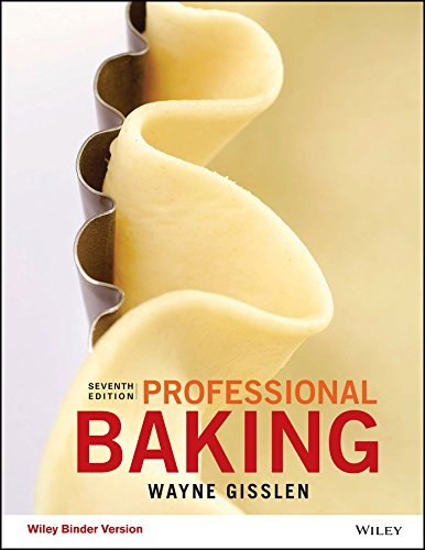 Professional Baking, 7e WileyPLUS with Loose-Leaf Print Companion with WileyPLUS Learning Space Card Set