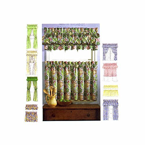 McCall's Home Decorating Pattern 8703 Window Essentials