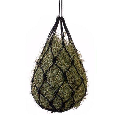 Horze Cotton Hay Net, Black by Horze (Hay Net Cotton)