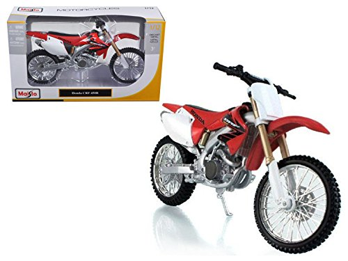 NEW 1:12 MAISTO MOTORCYCLE COLLECTION - WHITE RED HONDA CBR 600RR By Maisto