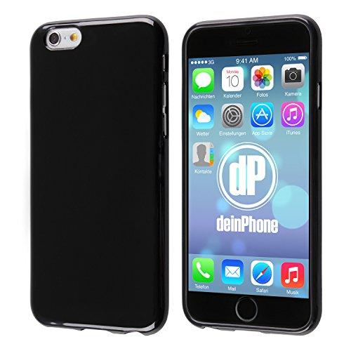 deinphone Coque iPhone 6Coque case en silicone noir