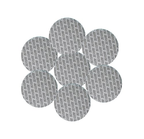 (SanDaveVA 70 mm Pressure Sensitive Qty 50 PS Foam Cap Liners Tamper Seal Cap Liner Sealed for your Protection)