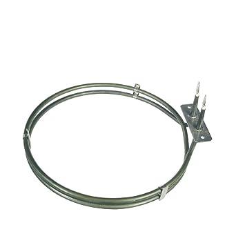 Original Resistencia Radiador de aire caliente recirculación del Horno Electrolux AEG 387142510)