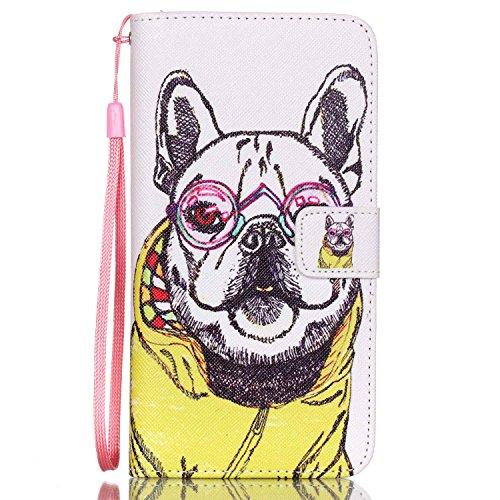 Galaxy Note 5 Hülle, Galaxy Note 5 Case, Anlike Schutzhülle Wallet Case Tasche Cover Handytasche Schutzhülle Handy Zubehör Lederhülle Handyhülle mit Standfunktion Kredit Kartenfächer Hülle für Samsung YB--a32