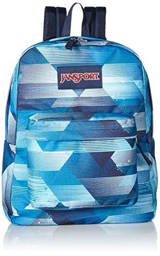 JanSport Unisex SuperBreak Multi Fast Lines Backpack by JanSport