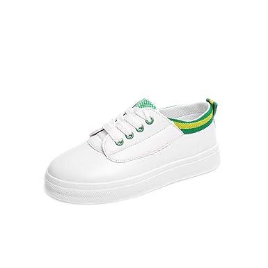 2df0c50afb6 DENER❤ Women Ladies Platform Sneakers with Flat Heels