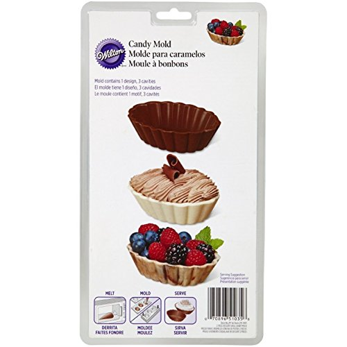 Wilton New Popular Dessert Shell 2 Piece Chocolate Candy ...