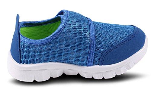 DADAWEN, Unisex-Kinder Outdoor Fitnessschuhe bleu(C)