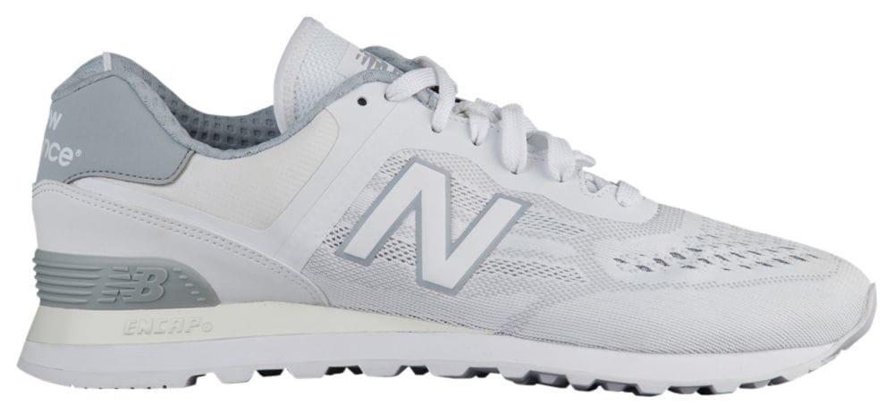 [ニューバランス] New Balance 574 - メンズ ランニング [並行輸入品] B072FK37WH US07.0 White/Silver Mink