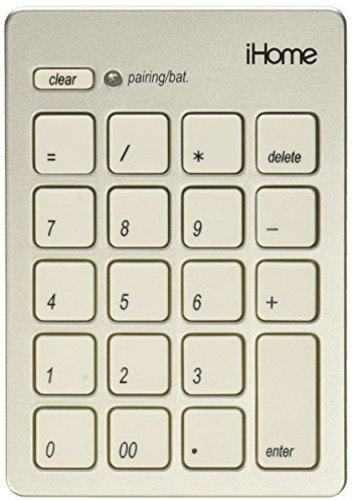 iHome Bluetooth Numeric Keypad Mac