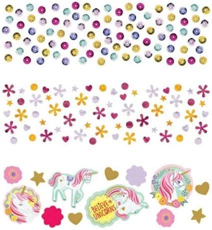 Unicorn Table Top CONFETTI Super Sparkly Glitter Confetti