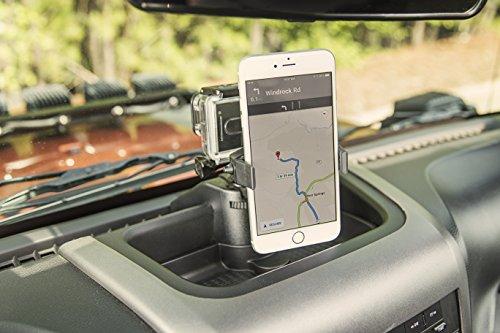 Rugged Ridge 13551.16 Dash Multi-Mount Phone Kit for 2011 to 2018 Jeep Wrangler JK and JKU by Rugged Ridge (Image #6)