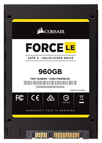 Corsair Force Series LE SSD, SATA 6Gbps 960GB by Corsair