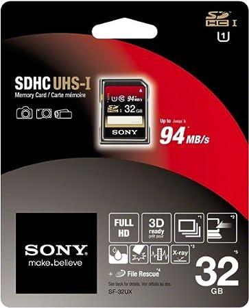 Sony 32GB SDHC Class 10 memoria flash Clase 10 - Tarjeta de ...