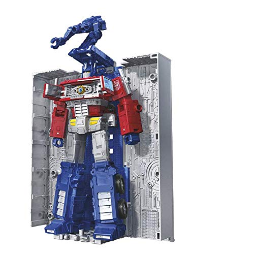 """Transformers Toys Generations War for Cybertron: Earthrise Leader Wfc-E11 Optimus Prime Action Figure - Kids Ages 8 & Up, 7"""""""
