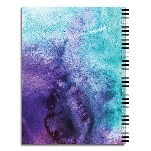 Sparkle Personalized Inspirational Spiral Notebook/Journal, 120 College Ruled or Checklist Pages, durable laminated cover, and wire-o spiral. 8.5x11 | 5.5x8.5 | Made in the USA Photo #2